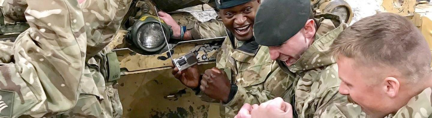 Welcome to BFBS, here to educate, inform and connect the Armed Forces around the world.